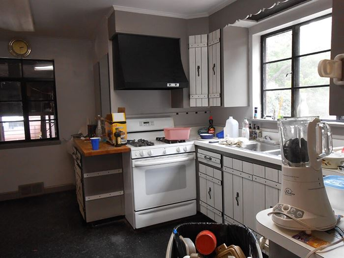 Older home remodel before picture of kitchen