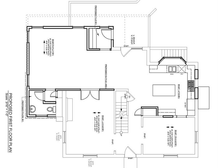 blueprint of home