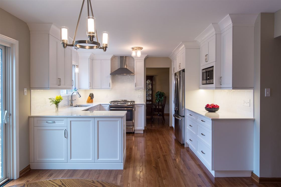 remodeled kitchen in downers grove