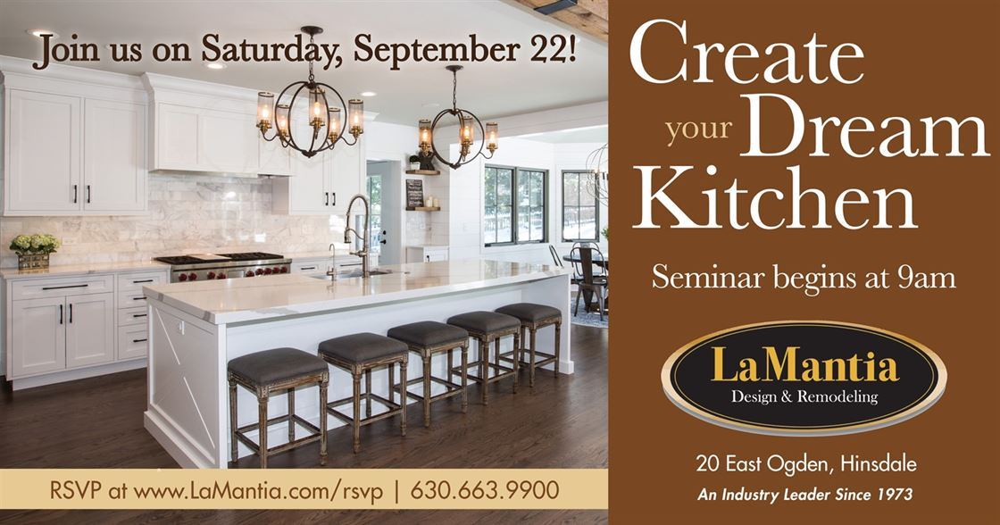 create your dream kitchen seminar
