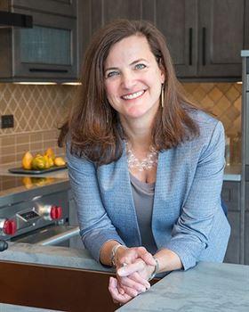LaMantia kitchen and bath designer Sally Mauery