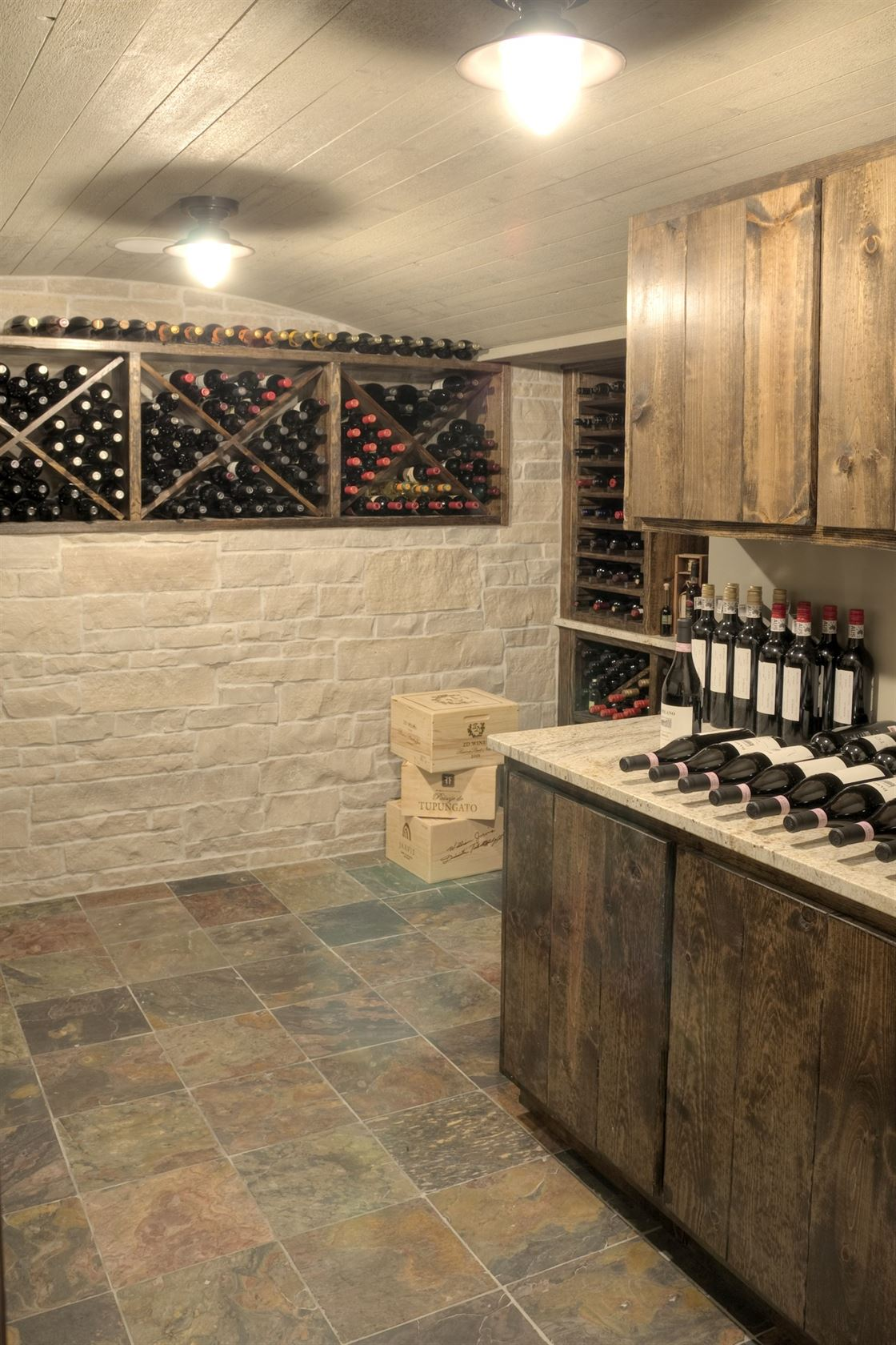 Wine cellar addition