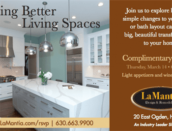 Creating Better Living Spaces seminar flyer